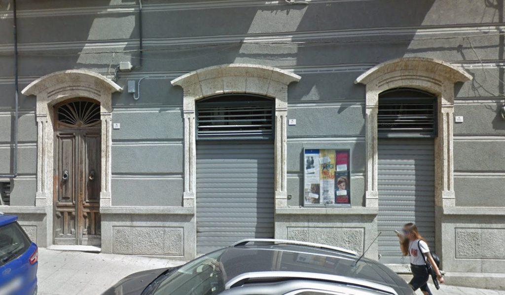 fotografia della facciata del cineclub greenwich d'essai