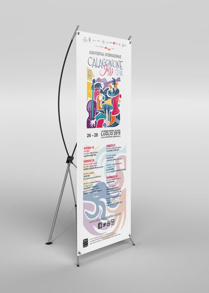 calagonone jazz festival la grafica del rollup