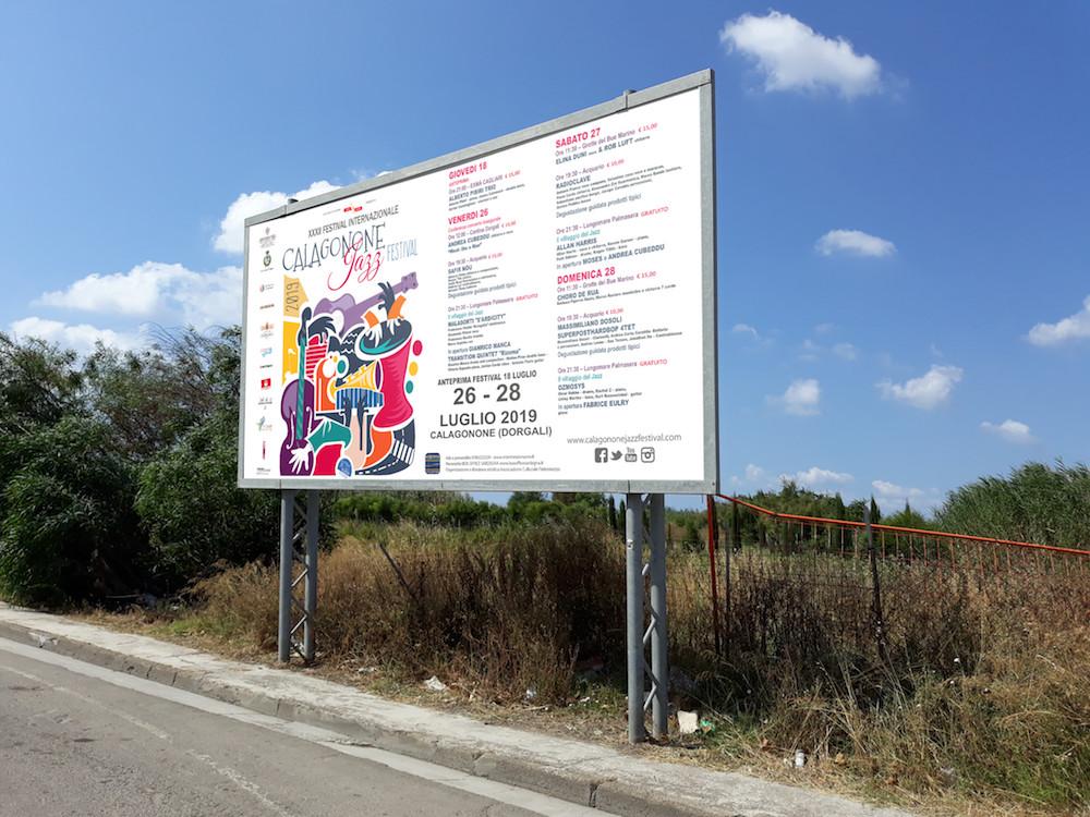 calagonone jazz festival 2019 la grafica 6x3