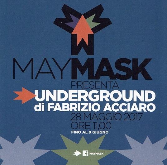 manifesto della mia mostra al may mask